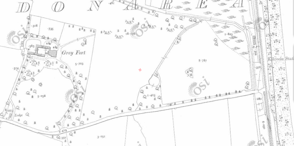 OSI early 1900s map